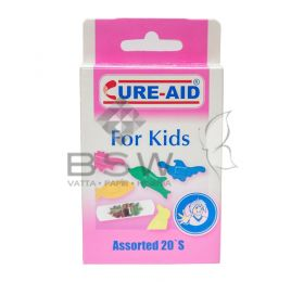 Adhesive plasters for Kids – 20 pieces/box, assorted