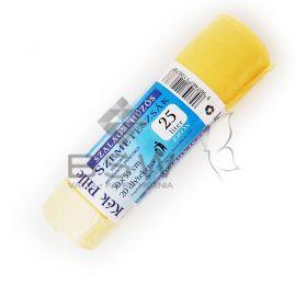 Kék Pille szalagbehúzós szemeteszsák, perforált, 25 L-es
