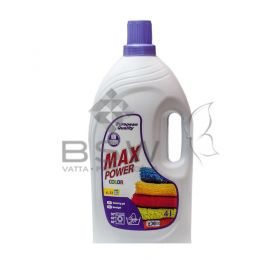 Max Power washing gel, Color