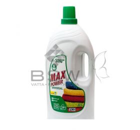Max Power washing gel, Universals