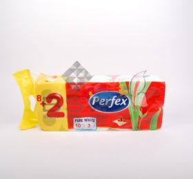 Boni Perfex 100% cellulóz WC papír