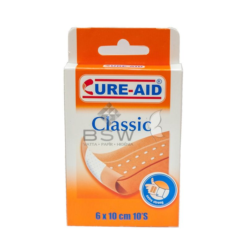 Adhesive plaster, Classic, 10 plasters/ box
