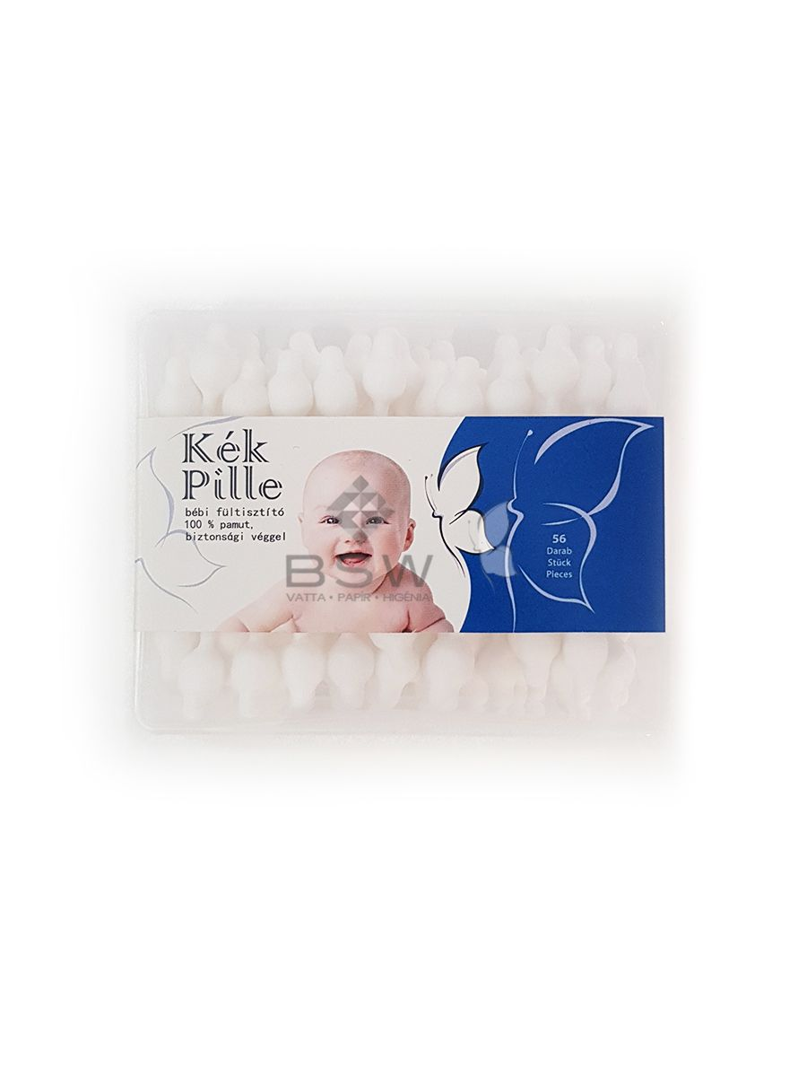 Kék Pille baby cotton buds