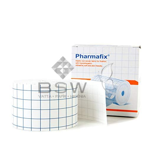 Pharmafix non-woven dressing retention sheet